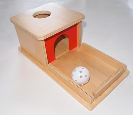 トレイ付き玉入れ||モンテッソーリ教育のおもちゃ