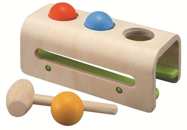 ハンマーボール|PLANTOYS|モンテッソーリ教育のおもちゃ