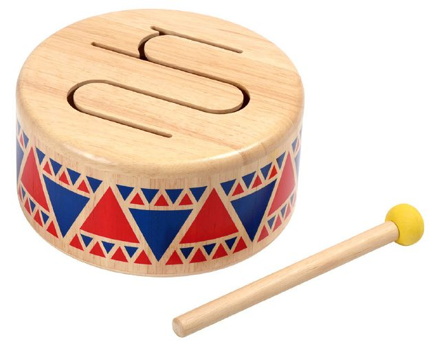 ソリッドドラム|PLANTOYS|モンテッソーリ教育のおもちゃ