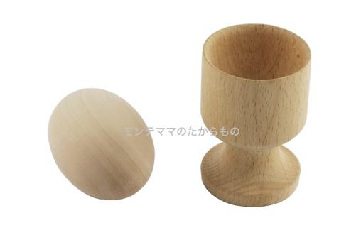 木製エッグスタンド|モンテッソーリ教育のおもちゃ