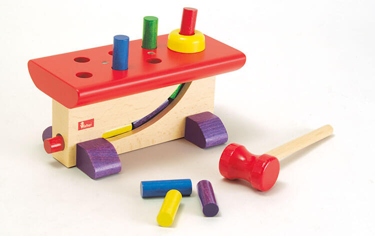 2歳向け知育玩具:大工さん