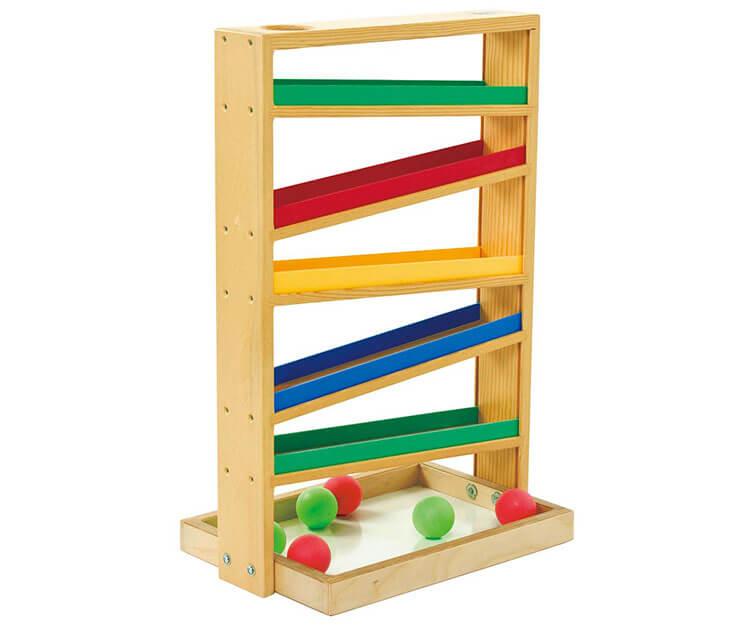 0歳向け知育玩具:ボールトラッカー