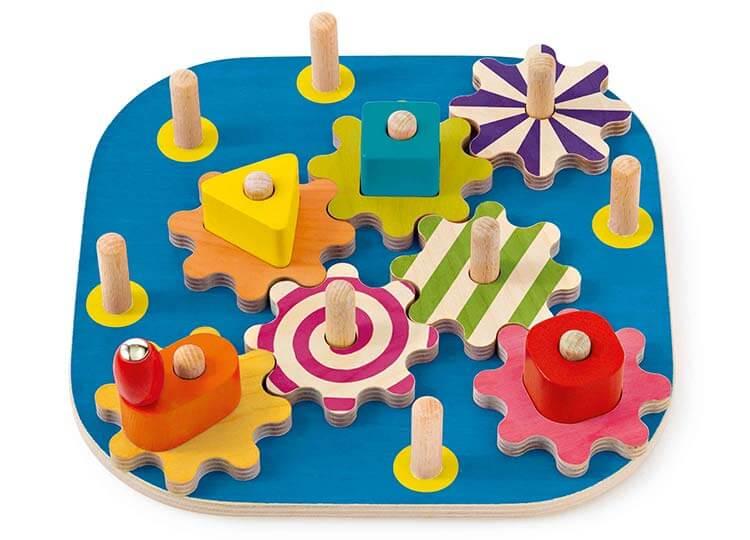 セレクタ・ギアボード〈ギアのおもちゃ〉SELECTA|木のおもちゃ・知育玩具