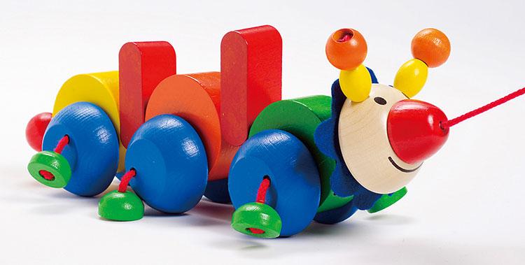 0歳向け知育玩具:プルトーイ・パコ