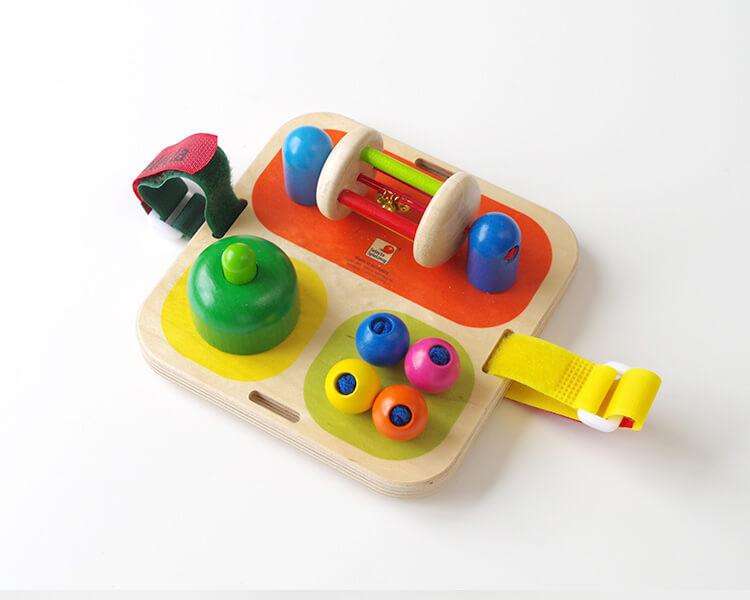 タボリ二|ベビーベッドのおもちゃ