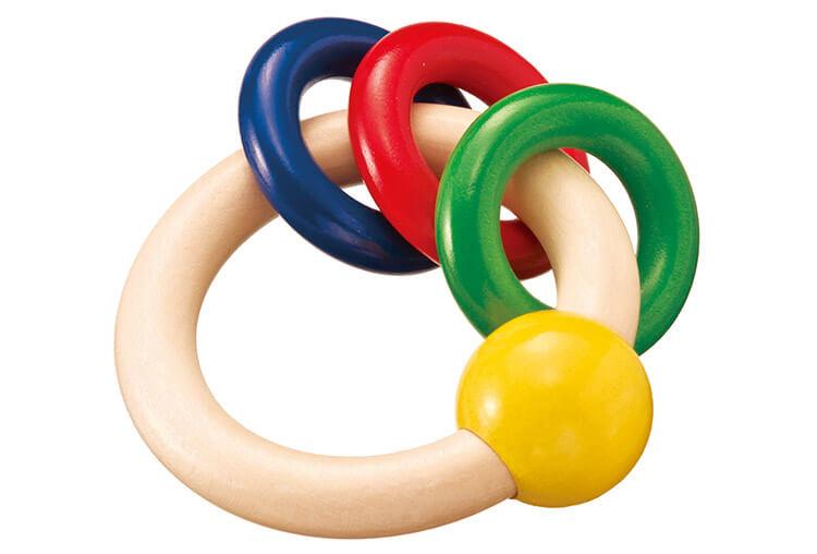 0歳向け知育玩具:ギラリー・3