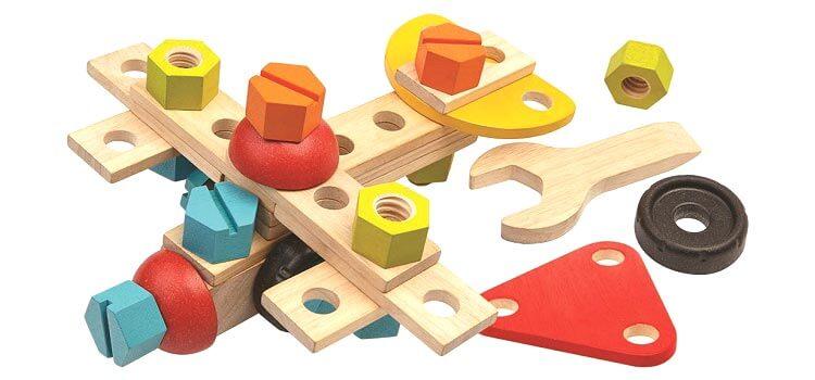 2歳向け知育玩具:コンストラクションセット40
