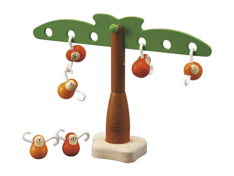 2歳向け知育玩具:おさるのバランスゲーム