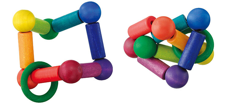0歳向け知育玩具:玉のグミターン