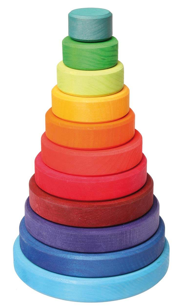 2歳向け知育玩具:スタッキングタワー
