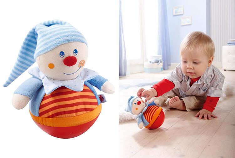 0歳向け知育玩具:おきあがり人形