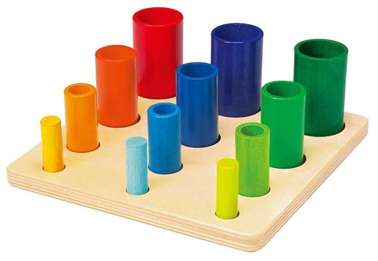 2歳向け知育玩具:WALTERイン&オン
