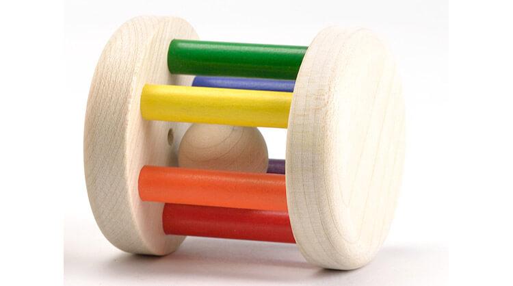 0歳向け知育玩具:PWカラーロール