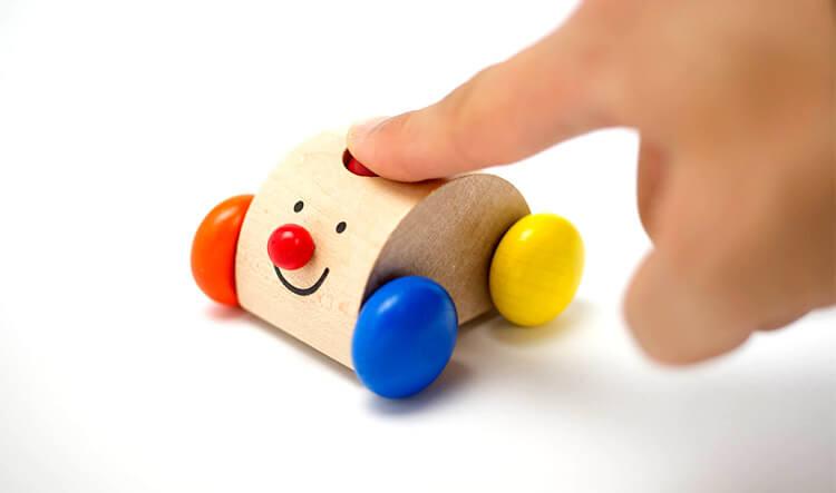 0歳向け知育玩具:クラクションカー