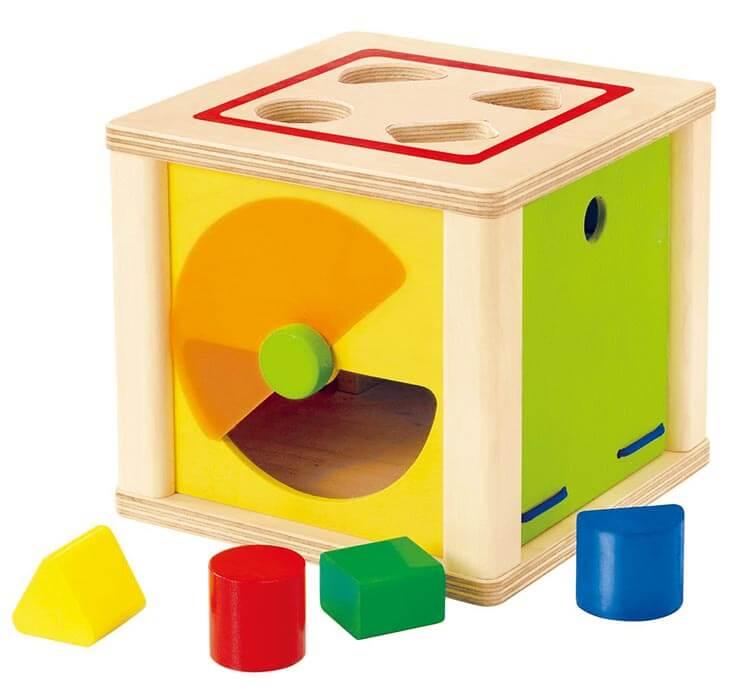 2歳向け知育玩具:トリダスボックス