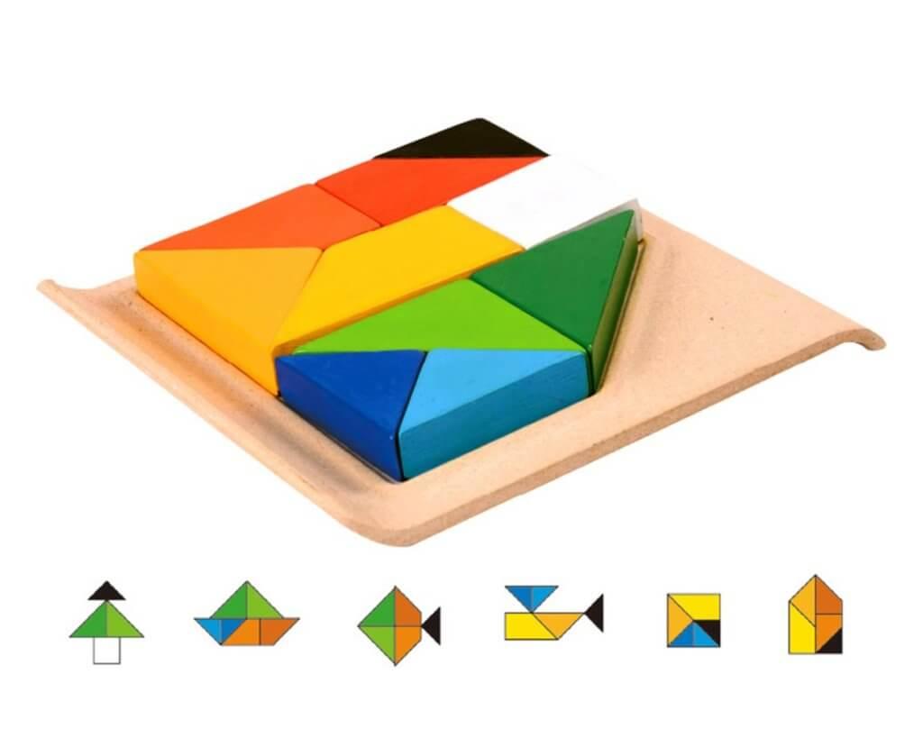 ツイストパズル|入れ子パズル|2歳のパズル