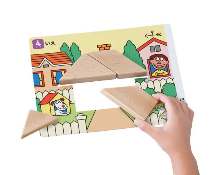 タングラム|3歳のおすすめパズル