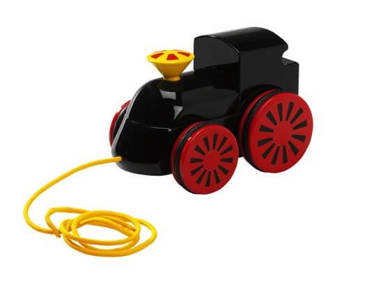 プルトイ・木製蒸気機関車(黒)