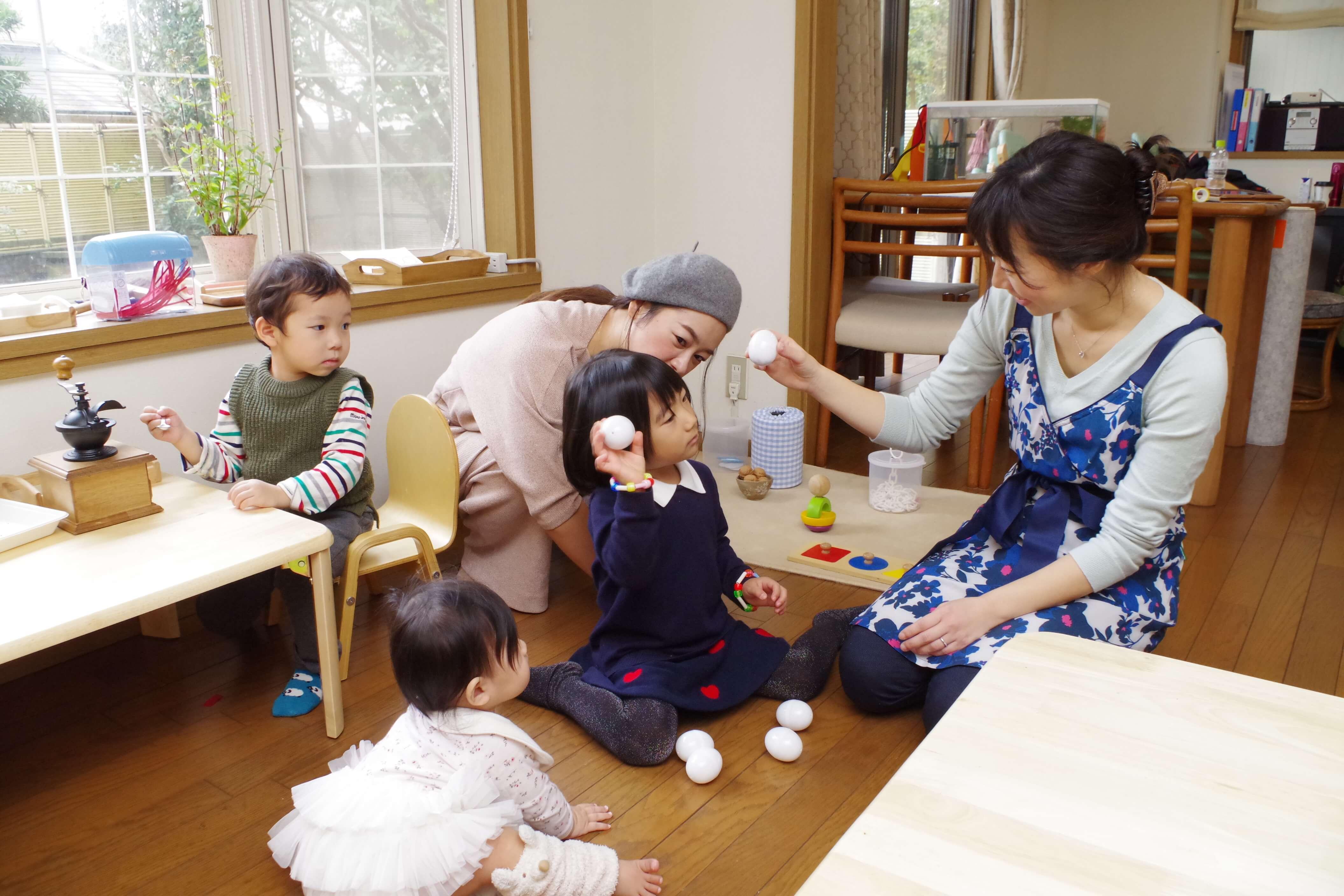 STUDYPARKモンテッソーリ式幼児教室が始まります!