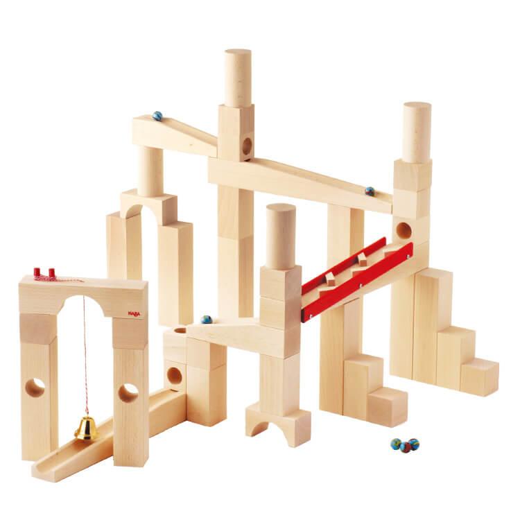 組立てクーゲルバーン〈積み木・玉転がし〉HABA|木のおもちゃ・知育玩具