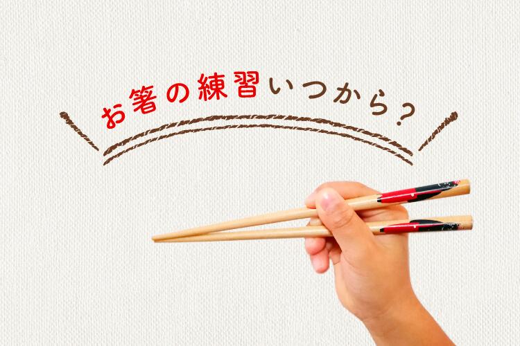 お箸の練習いつから
