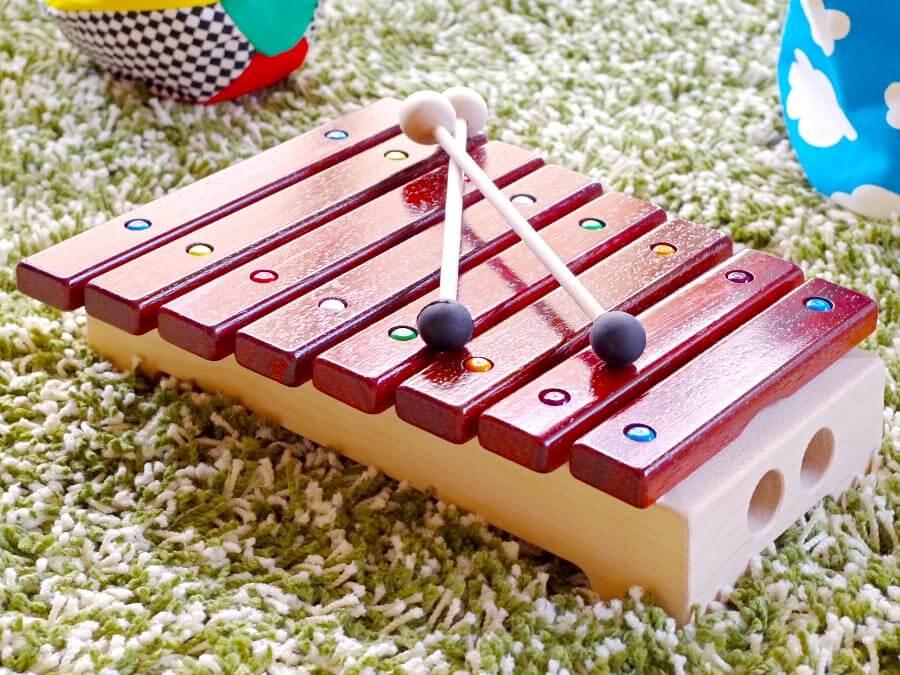 grillo グリッロ 木琴 楽器のおもちゃ