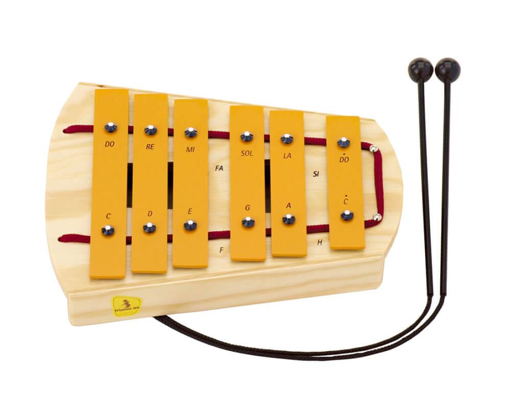 ペンタグロッケン 鉄琴 楽器のおもちゃ