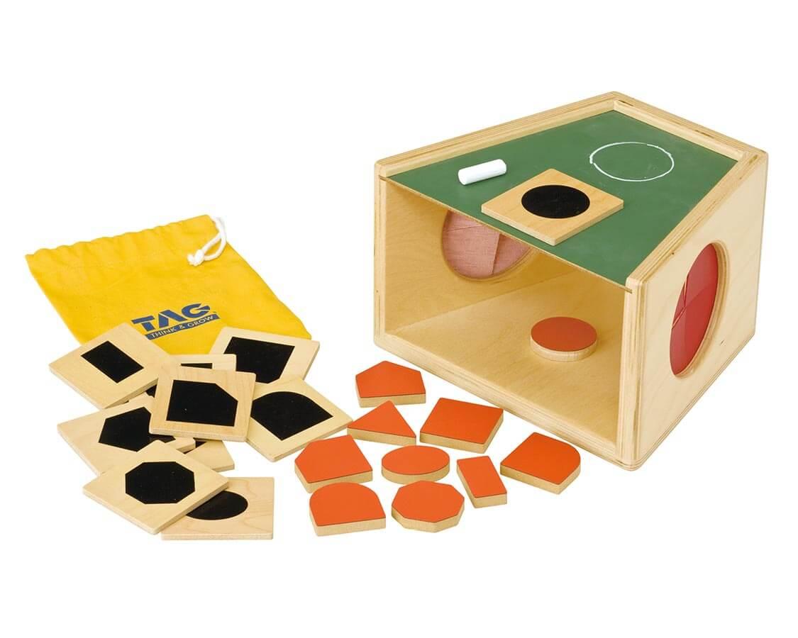 手で学ぶ秘密の箱 TAG|木のおもちゃ・知育玩具